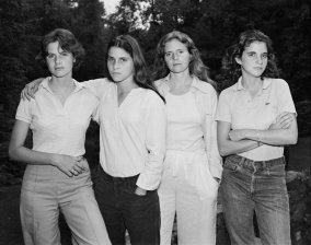 """""""Forty Portraits in Forty Years"""" by Nicholas Nixon"""
